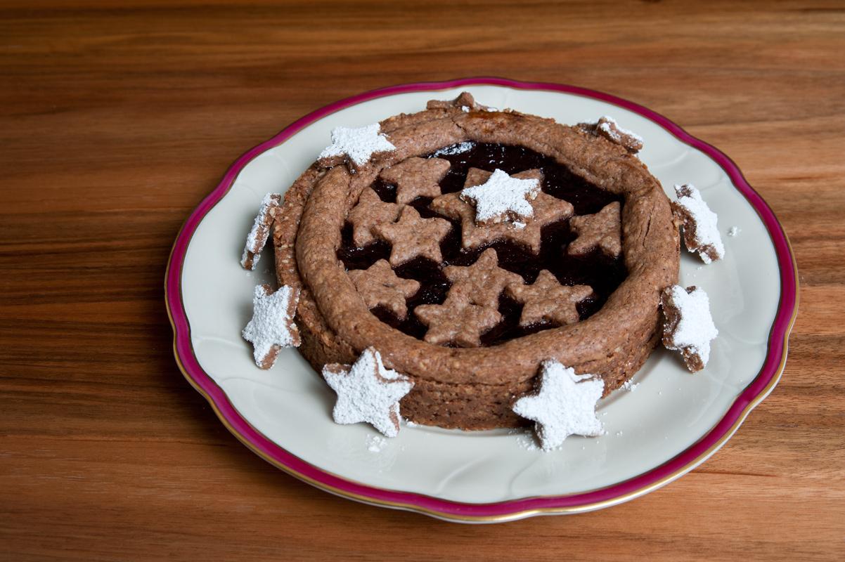 Dinkel-Linzer-Torte
