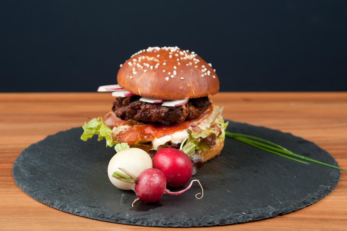Einfach Brezen-Burger backen mit Back dir Brezen