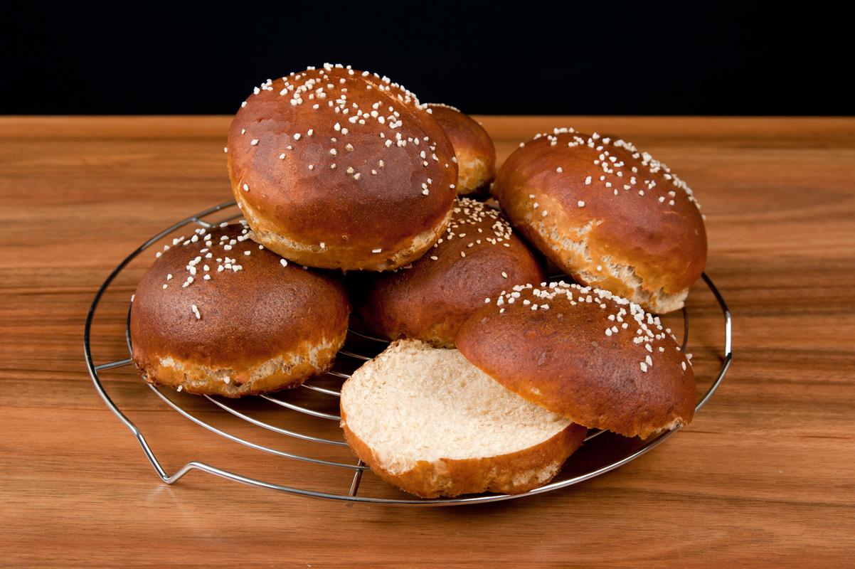 Back dir Brezen - Burger Buns