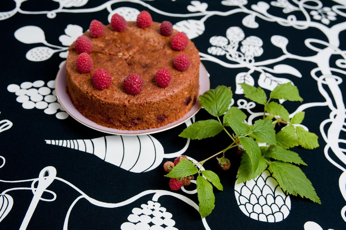 Einfacher Kuchen mit Einkornmehl aus der Kunsmühle in Fahlenbacn