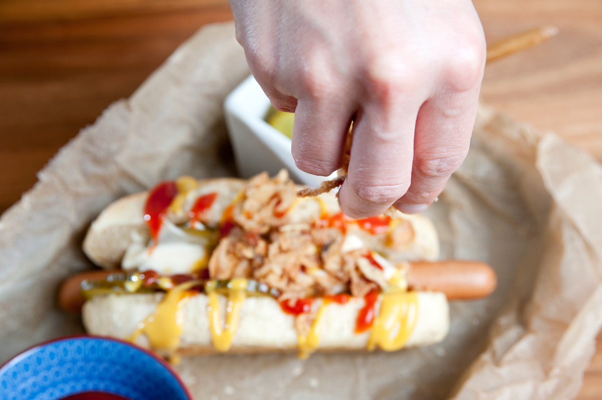 Dinkel-Hotdog-Brötchen von backdeinbrot