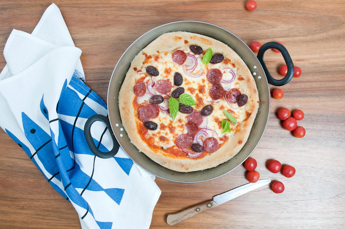 Originelle Pizza Rezepte mit Mehl aus der Mühle in Fahlenbach