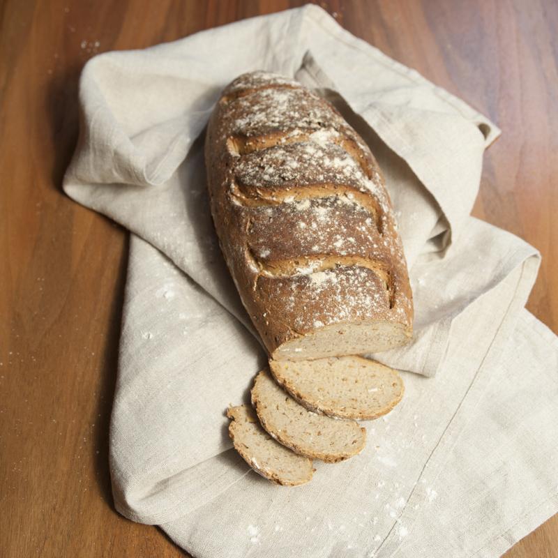 Brot backen zuhause mit Mischungen aus der Mühle