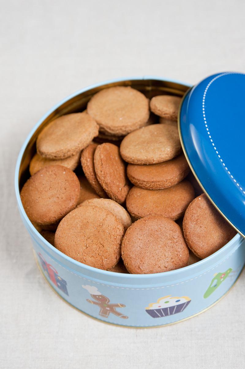einfache Plätzchen Kekse mit Dinkel