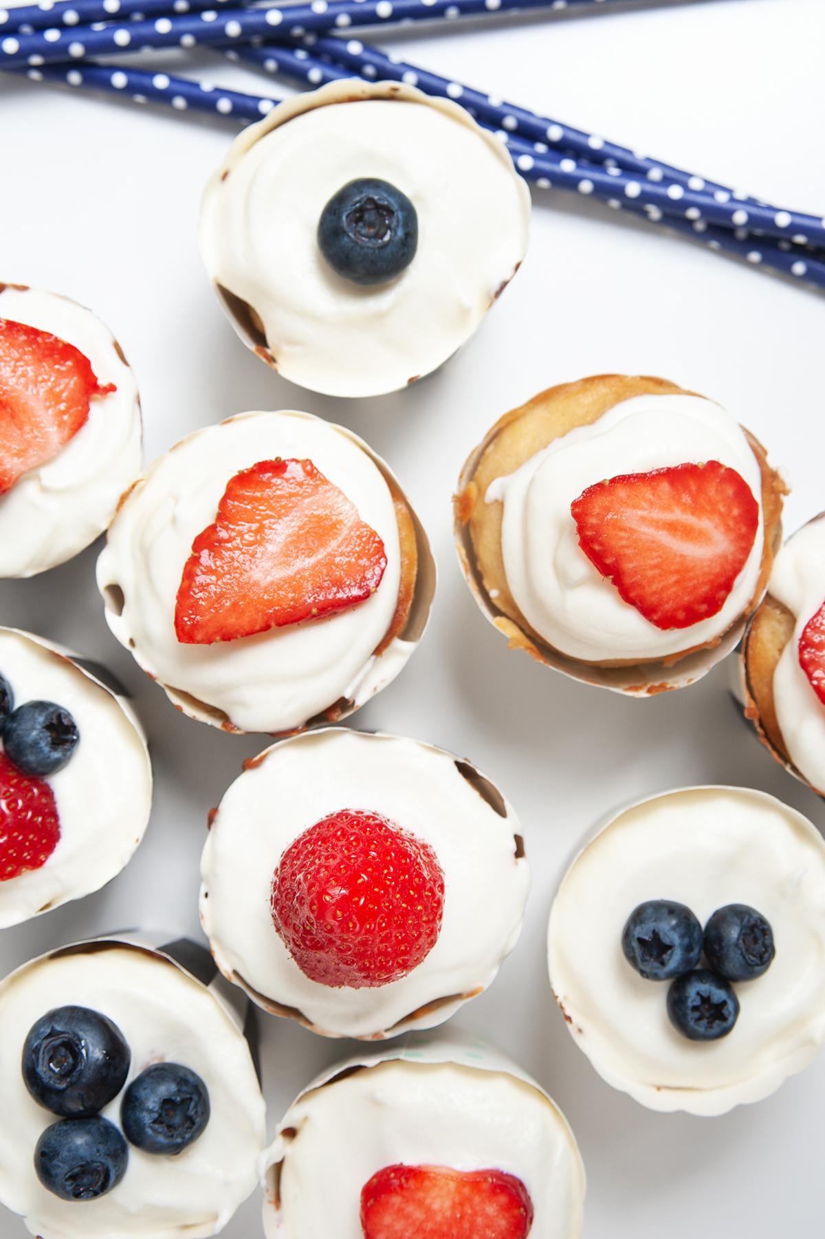 Saftige Rührteig-Muffins mit Joghurt und Kamut