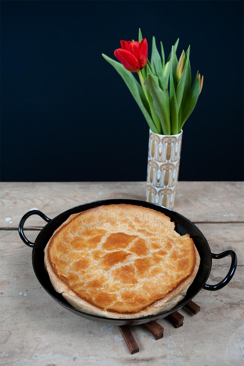 Vollkorn-Pfannkuchen aus dem Ofen nicht nur für kalte Tage