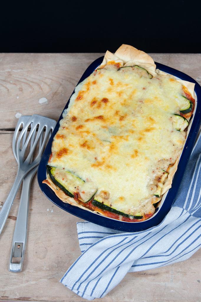 Lasagne-Platten selbst gemacht aus Dinkeldunst